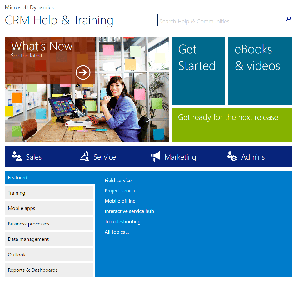 CRM Help and Training